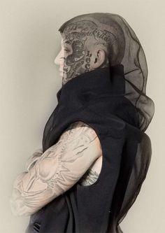 Dystopian Fashion, Post-Apocalyptic Fashion, Man in Black, 'Apocalypse' - Diplom-/Masterarbeit Mode-Design