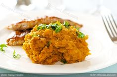 Asian Mashed Sweet Potatoes