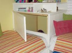 Image result for how to fit two twin beds in a corner
