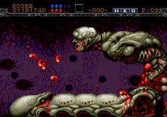 Gynoug aka Wings of Wor - Sega Megadrive/Genesis