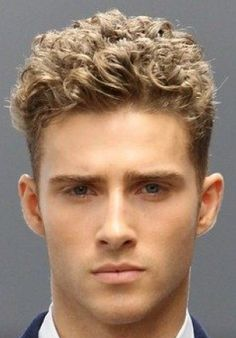 Ryan Taylor curly hairstyle.