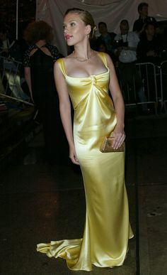 BEST: Scarlett Johansson in Calvin Klein, 2004 | The Best & Worst Met Ball Dresses In Recent History