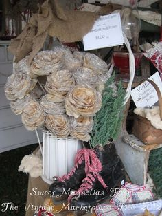 Sweet Magnolias Farm: We're back ..from ...The Vintage Marketplace at the Oaks