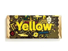 Taste of Yellow Chocolate   Packaging of the World: Creative Package Design Archive and Gallery