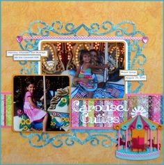 Carousel Cuties - Scrapbook.com