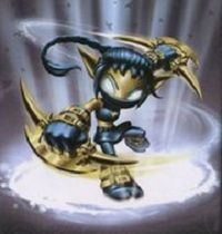 Legendary Stealth Elf - Visit us at SkylanderNutts.com for more information about Legendary Stealth Elf and all of the other Skylanders.