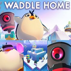 An awesome Virtual Reality pic! Happy #ScreenshotSaturday! We're sharing our newest #GearVR release Waddle Home. Rescue adorable penguins solve puzzles and keep safe from oil-hungry robots!  #Oculus #Samsung #gearvr #VR #Virtualreality #vrgame #Vrgamer #gameart #screenshot #penguin #robot #puzzle #puzzlegame by archiact check us out: http://bit.ly/1KyLetq