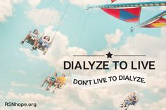 Dialyze to Live, Don't Live to Dialyze! Learn skills to improve your quality of life, take control of your life and living the way you want to. Dialysis, Your Life, Improve Yourself, Education, Learning, Live, Health, Health Care, Teaching