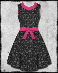 Too Fast Calavera Dress