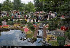 billund denmark legoland   Lego Miniland, Legoland, Billund, Central Jutland, Denmark. LKF-84463 ...