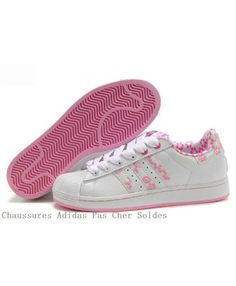 uk availability ecf3d b55bf Adidas Superstar Women s Pink and White