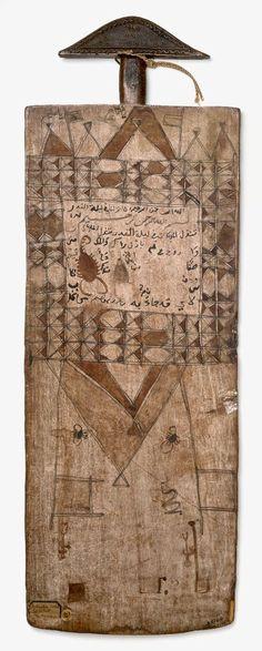 artafrica:  Talismanic Qur'an BoardOmdurman City, Sudan