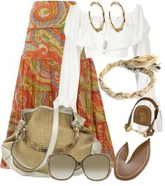 """""""Off The Shoulder Top"""" by gangdise on Polyvore"""