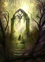 Mystical gateway to Avalon...