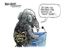 Political cartoon Republicans Obama impeach Political and Editorial Cartoons - The Week
