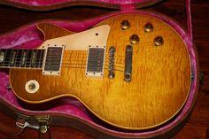"""1960 Gibson Les Paul Standard """"Burst"""" http://www.garysguitars.com/catalog/1960-gibson-les-paul-standard"""