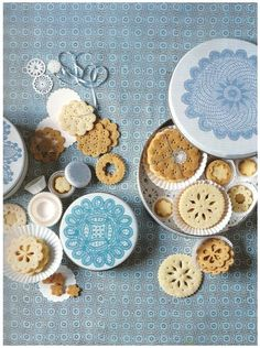 Oh my, Martha, cookies & doilies, whats not to love! xx
