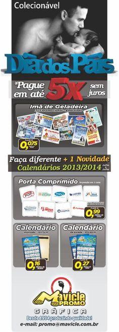Imã de geladeira colecionável, Dia dos Pais 2013!