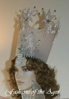 1000 images about wizard of oz on pinterest wizard of for Glinda the good witch crown template