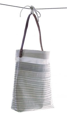 Susan Hoff Bags. All Recycled Materials and Beautiful to Boot!!