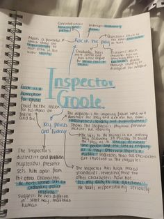Inspector Goole English Gcse Revision, Gcse English Language, Gcse English Literature, Exam Revision, Revision Notes, Study Notes, Revision Tips, An Inspector Calls Quotes, An Inspector Calls Revision
