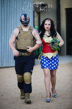 Bane and Wonder Woman were there.
