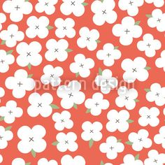 Cherryblossom Sea designed by Lydia Meiying, vector download available on patterndesigns.com