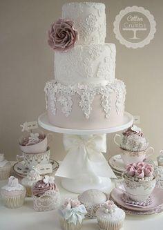 Dusty Pink / Butterfly Wedding | {D+G}