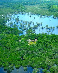 El Parque Nacional Cuyabeno