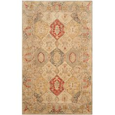 Three Posts Ashville Hand-Tufted Area Rug Rug Size: