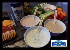 Horseradish Tomato Basil Dip Using Litehouse Homestyle Ranch - Powered by @ultimaterecipe