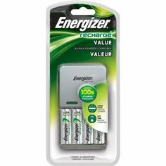 Energizer Recharge for AA/AAA with Four AA Batteries by Energizer. $14.99