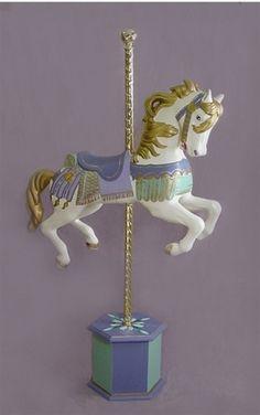 """Treasure"" Carousel Horse Prop"