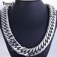 Silver Chain For Men, Chains For Men, Stainless Steel Necklace, 316l Stainless Steel, Cheap Fashion Jewelry, Silver Rings With Stones, Mens Chain Necklace, Link, Silver Color
