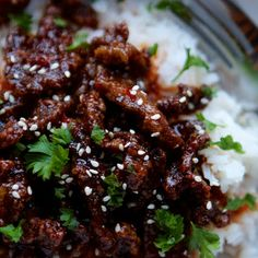 Better Than Take-Out Crispy Sesame Beef @keyingredient #honey