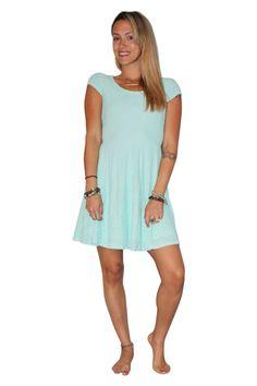 Mint Lace Dress with Cutout Back! - 5dollarfashions.com