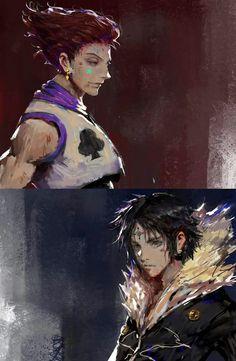 Hisoka vs Chrollo | Hunter x Hunter fanart