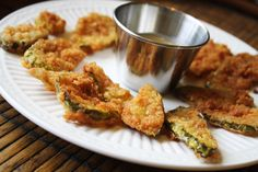 Vegan fried pickles