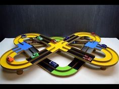 How to make a Magic track with the machines of cardboard with their own hands Materials: cardboard, hot glue, self-adhesive paper. Cardboard Race Track, Cardboard Crafts, Make Your Own Game, Ways To Recycle, Fun Crafts For Kids, Kids And Parenting, Kids Toys, Recycling, Youtube