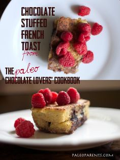 Chocolate Stuffed French Toast from Paleo Chocolate Lovers Cookbook on @Stacy of Paleo Parents #pclcookbook by @Kelly Brozyna