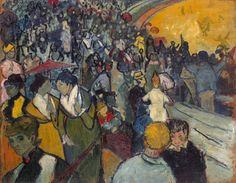 Vincent Van Gogh「Arena di Arles」(1888)