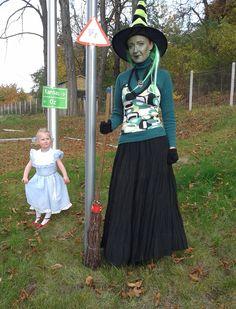 Anya-lánya halloween jelmez - Dorothy és a gonosz nyugati boszorkány