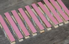 Decorative Clothespins  Shabby Chic  Country  by MyLilCraftyRoom