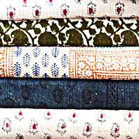 hand-blocked rugs at Cost Plus World Market