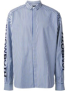 JUUN.J awning stripe shirt. #juun.j #cloth #셔츠