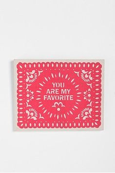 You Are My Favorite Wall Art - Urban Outfitters