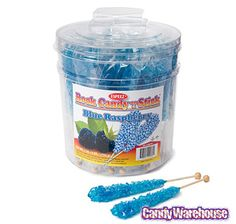Just found Rock Candy Crystal Sticks - Blue: 36-Piece Tub @CandyWarehouse, Thanks for the #CandyAssist!