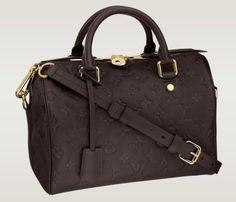 c83c03857c06 Buy Shoulder Bags And Totes Monogram Empreinte Louis Vuitton Speedy  Bandouliere 25 Earth 2013