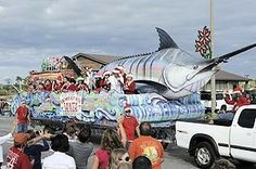 Gulf Shores parade likely largest ever #gulfshores #orangebeach #Christmas