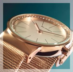 Buren watch for Her - available Sterns Gift Of Time, Gold Watch, Watches For Men, Gifts, Beauty, Women, Style, Fashion, Swag